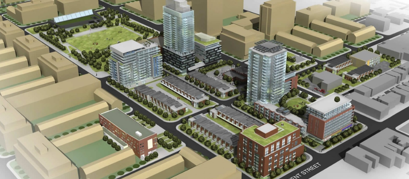 Image of Regent Park community energy system.